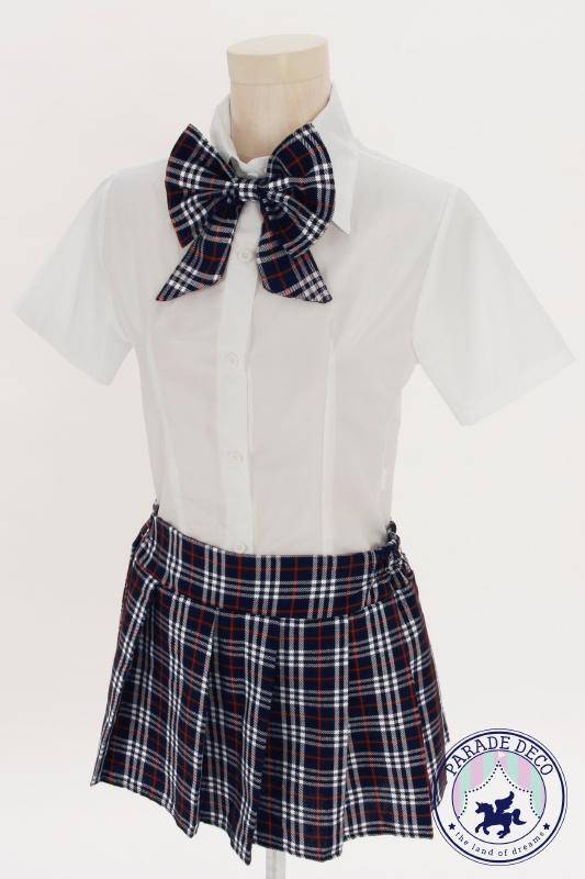 チェックスカート制服紺2.jpg