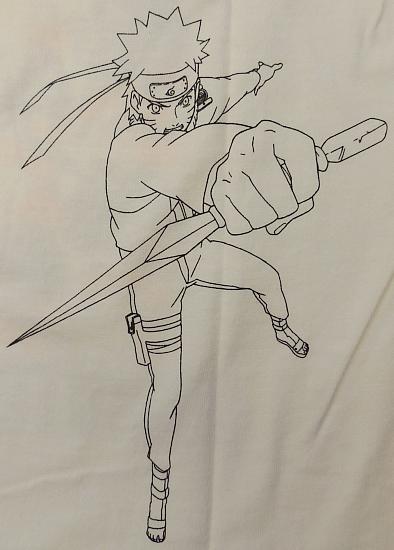 ナルトTシャツ影分身 (5).jpg