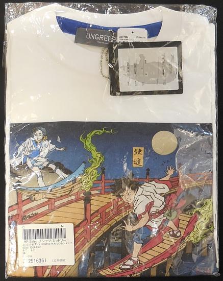 エウレカセブン浮世絵Tシャツレントン&エウレカ (1).jpg