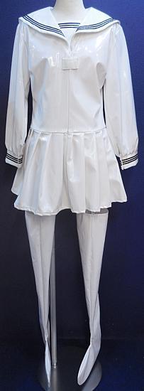 女王様エナメルセーラー長袖ホワイト (1).JPG